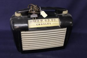1940-50's Crosley radio.
