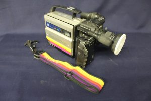 A 1990's Sony video camera.