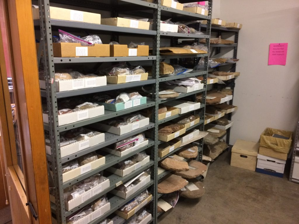 BLM Collection of Manos and Metates at the Museum of the West