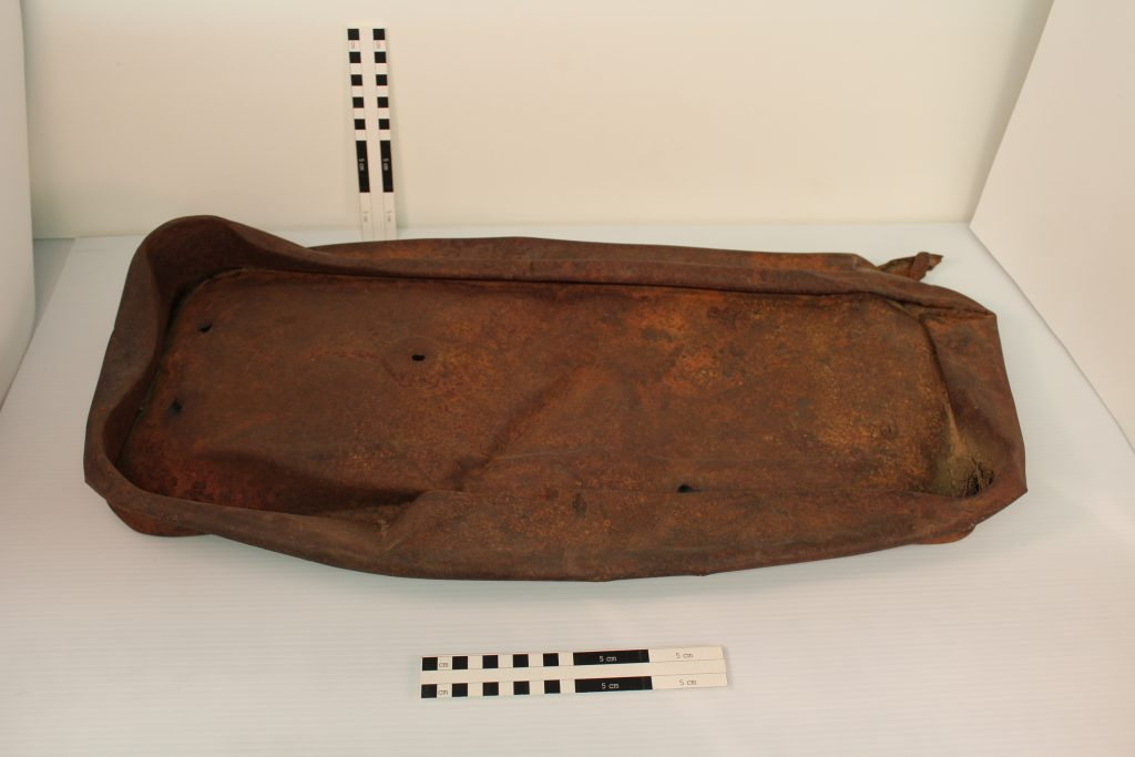 Child's wagon found at Calamity Camp. BLM Collection.