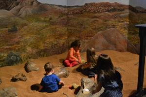 Dinosaur Journey's dig pit!