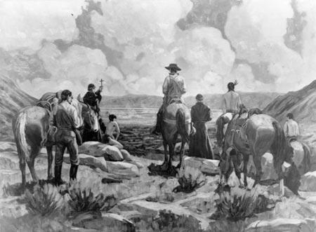 Dominguez and Escalante (ilovehistory.utah.gov)