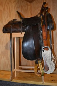 A saddle made in Grand Junction at the turn of the century!