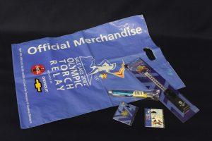 Memorabilia from the 2002 Salt Lake Olympics.