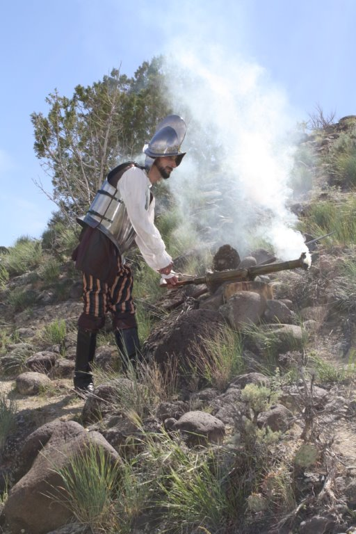 Museum of the West's 55-swivel cannon in action!