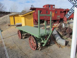 Railroad collection at Cross Orchards Historic Site.