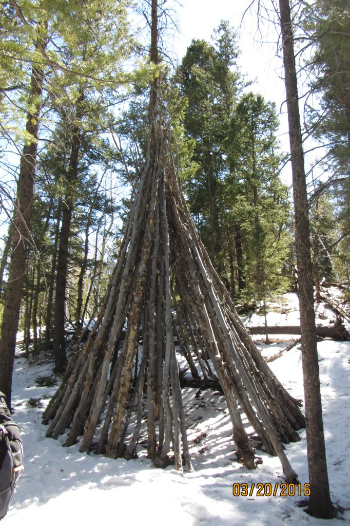 Ute Wickiup